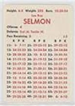 Lee Roy Selmon (Football Card) 1981 APBA Football 1980 Season - [Base] #LERS