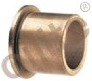 Genuine Oilite® (SAE 841) Sintered Bronze Metric Flanged Sleeve Bearings 10 mm. ID x 13 mm. OD x 12 mm. Length x 16 mm. Flange Diameter x 1.5 mm. Flange Thickness