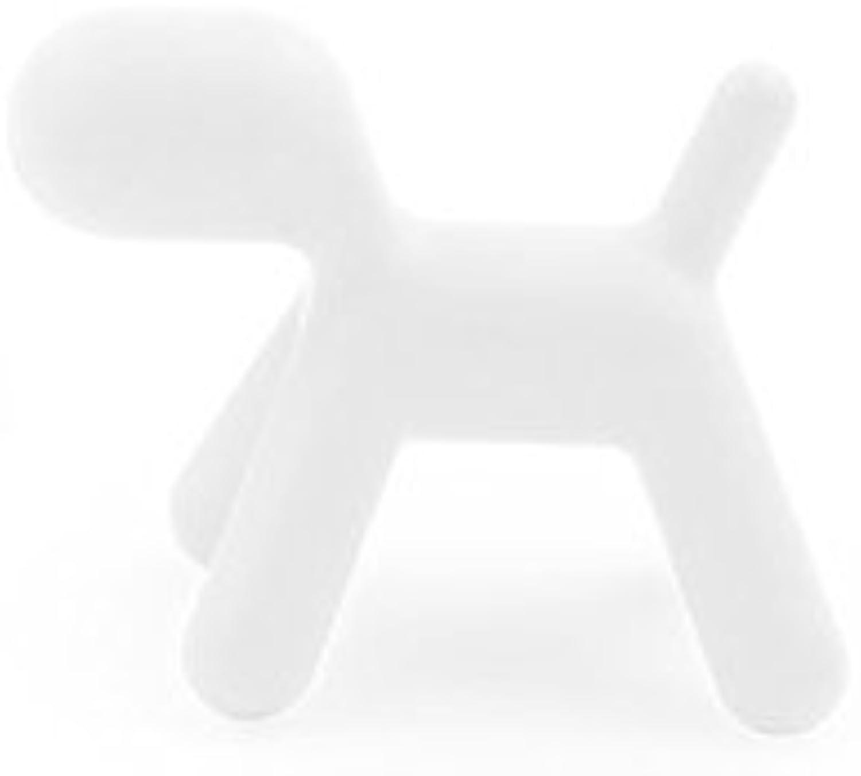 Precio por piso Puppy Magis by Eero Eero Eero Aarnio - Figura en forma de perro, blancoo, X-Large  Venta barata