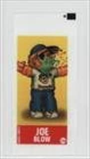 Joe Blow (Trading Card) 2003 Topps Garbage Pail Kids All-New Series 1 - Green Gum Wrapper Stickers #13a