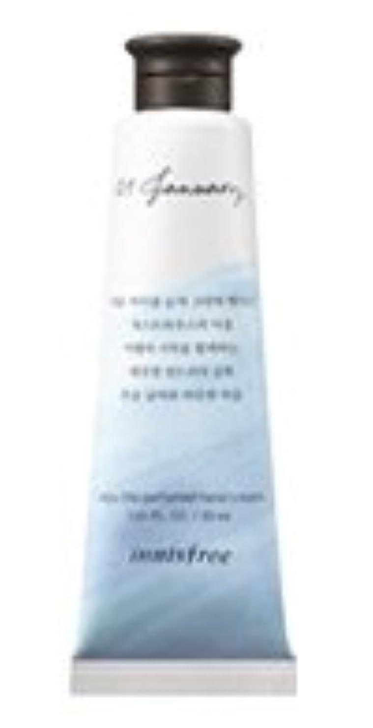 スクワイア先住民呼び起こすInnisfree Jeju life Perfumed Hand Cream (1月 ゲストハウスランドリー) / イニスフリー 済州ライフ パフューム ハンドクリーム 30ml [並行輸入品]