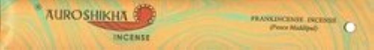 不格好アームストロング風が強いAuroshikha Incense - Frankincense - Classic Marble Incense [並行輸入品]