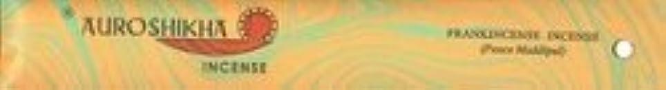 有用名目上の不良Auroshikha Incense - Frankincense - Classic Marble Incense [並行輸入品]
