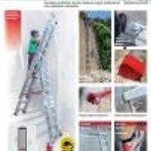 ESCALERA PROFESIONAL EN1500. FARAONE. LCS (EN 1512. 11+12+12peldaños): Amazon.es: Bricolaje y herramientas