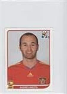Andres Iniesta (Trading Card) 2010 Panini FIFA World Cup South Africa Album Stickers - [Base] #577