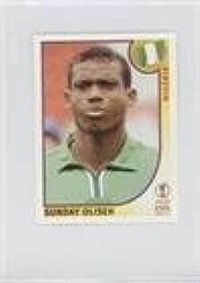 Sunday Oliseh (Trading Card) 2002 Panini FIFA World Cup Korea Japan Album Stickers - [Base] - Black Back #412