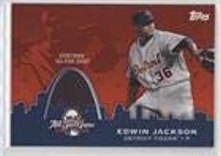 Edwin Jackson (Baseball Card) 2009 Topps Updates & Highlights - All-Star Stitches #AST-39