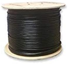 LinkedPro Weatherproof Waterproof UV Rated Direct Burial Gel Filled Network CAT6 Cable W/Solid Copper Conductors 500' Spool