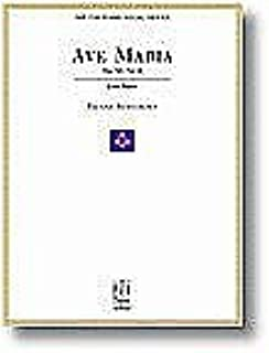 Ave Maria Op. 52, No. 6 for Low Voice and Piano