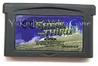 Sword of Mana Rock 'n' Roll Racing 32 Bit Video Game Cartridge Card EU Sticker Version Shrek the Third