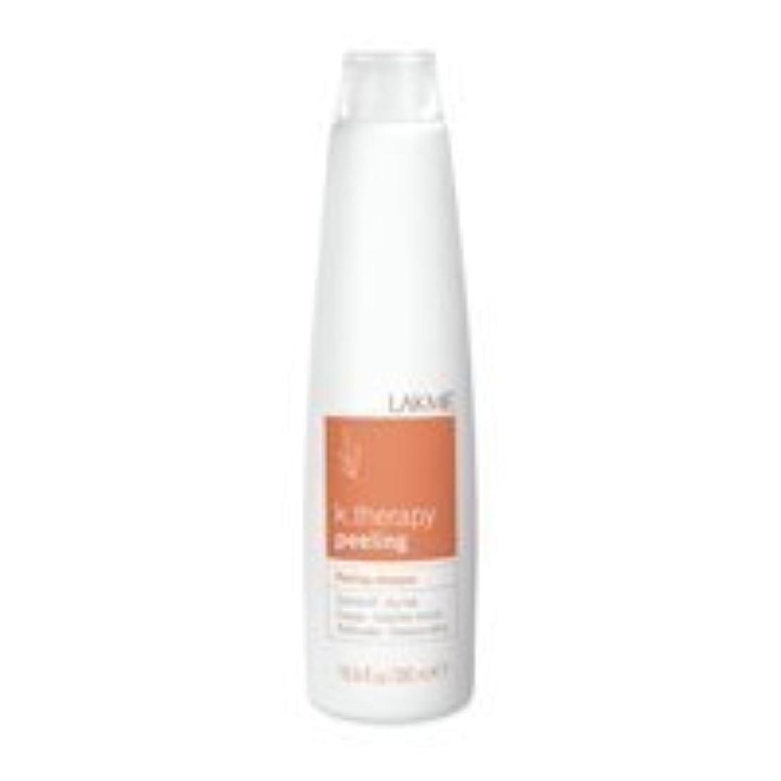 不愉快にソーシャル曖昧なLakme K.Therapy Peeling Shampoo Dry Hair 10.6 oz by Lakme [並行輸入品]