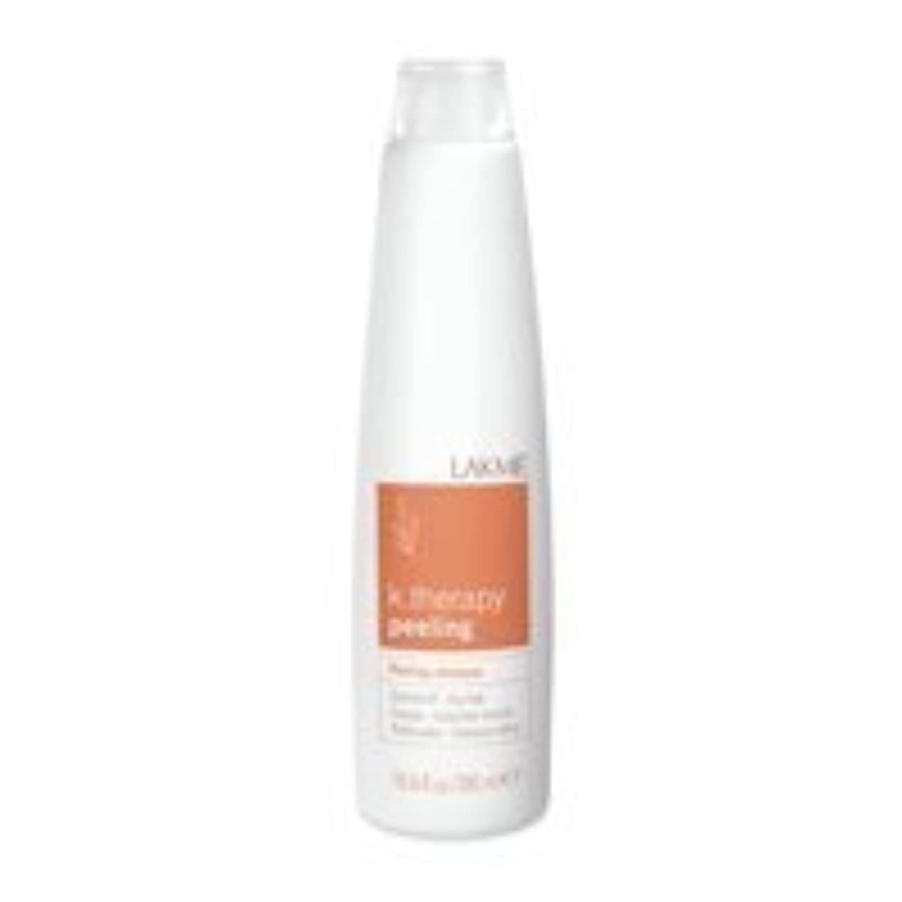 日曜日台風ひいきにするLakme K.Therapy Peeling Shampoo Dry Hair 10.6 oz by Lakme [並行輸入品]