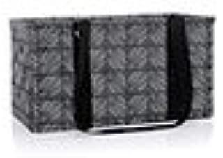 large utility tote chevron squares
