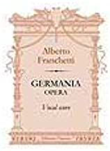 Germania. Opera. Vocal Score. Text in Italian