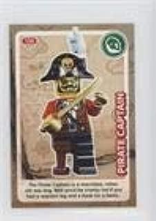 Pirate Captain (Trading Card) 2017 Lego Create the World - [Base] #136
