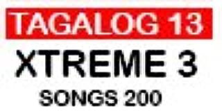 Tagalog 13 Magic Sing Song Chip for magicsing karaoke mic et25k,et23kh,et19kv,et18k,ed7000,ed8000, leadsinger ls2100, ls and all other magicsing 3 slots or more3700