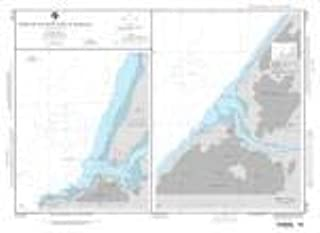 NGA Chart 51181-Plans On The West Coast of Morocco; Plan A: Larache - Water-Resistant