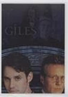 Giles (Trading Card) 2005 Inkworks Buffy the Vampire Slayer and the Men of Sunnydale - Dressed to Kill Puzzle #DK2