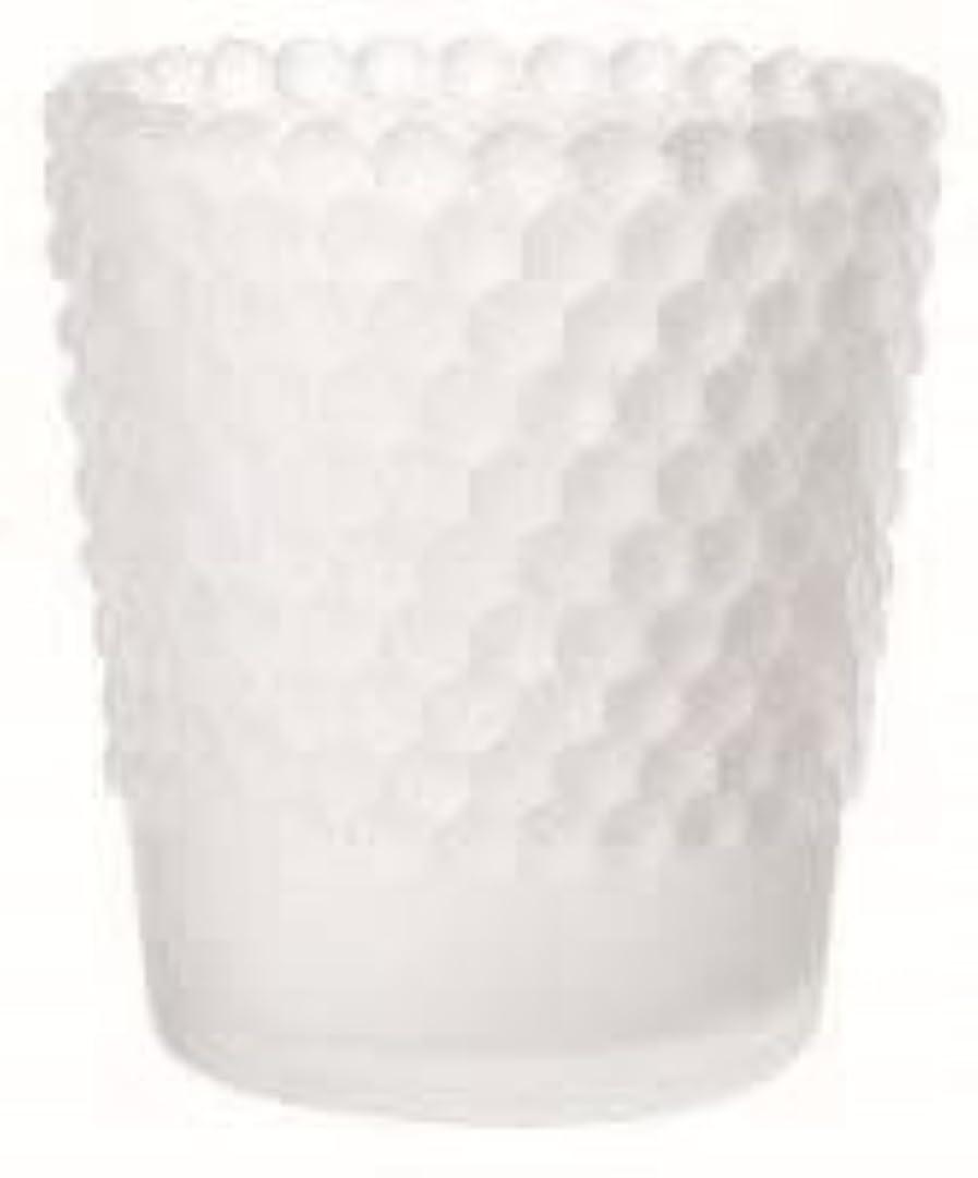 振動するロデオ襲撃カメヤマキャンドル(kameyama candle) ホビネルグラス 「 フロストホワイト 」6個セット