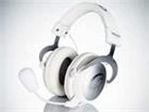 QPAD QH-90 Pro Gaming 53mm Driver Hi-Fi Headset with Detachable Mic White