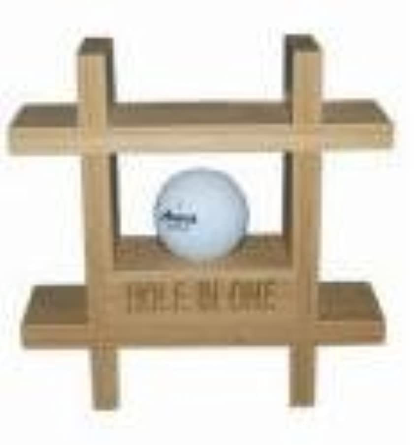 Hole in One Bamboo Ball Display Rack