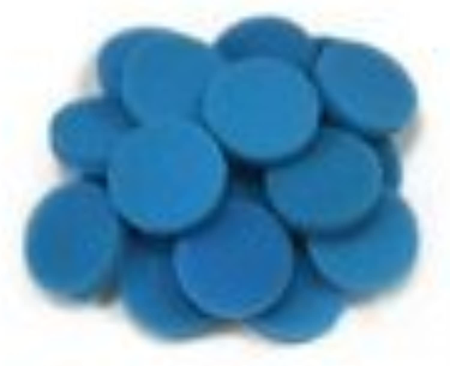 LTWHOME bluee Coarse Foam Media Filter Pads Suitable For Eheim Classic 2215   350 2616151(Pack Of 50)