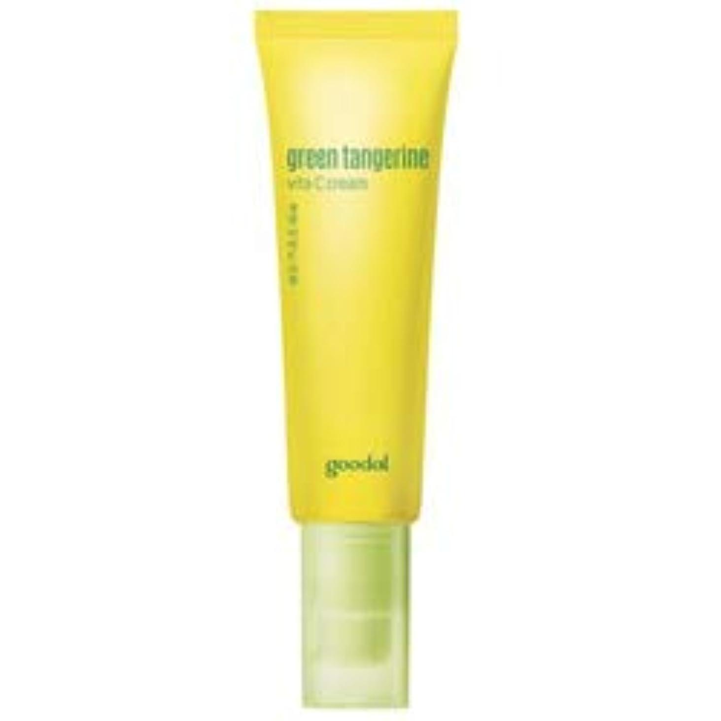 支出フェザーエッセンス[goodal] Green Tangerine Vita C cream 50ml / [グーダル]タンジェリン ビタC クリーム 50ml [並行輸入品]