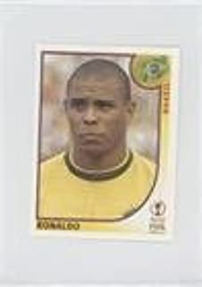 Ronaldo (Trading Card) 2002 Panini FIFA World Cup Korea Japan Album Stickers - [Base] - Blue Back #184
