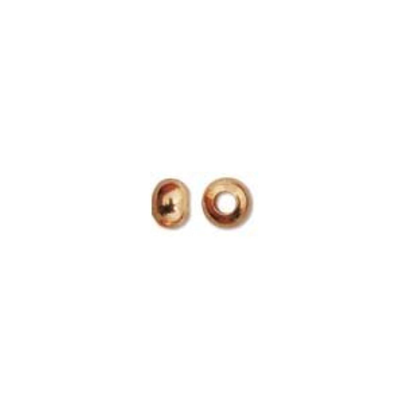 3mm Copper Donut Bead (100) 35128