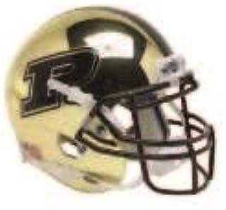 Purdue Boilermakers Gold Chrome Alternate Schutt Authentic Mini Football Helmet