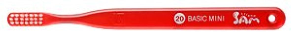 錆び時悪魔【サンデンタル】サムフレンド ベーシックミニ?ミディアム #20 30本【歯ブラシ】【ふつう】6色入 アソート