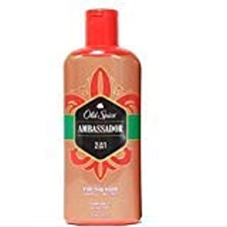 Old Spice Ambassador 2in1 Shampoo and Conditioner, 12 fl oz Each (1)