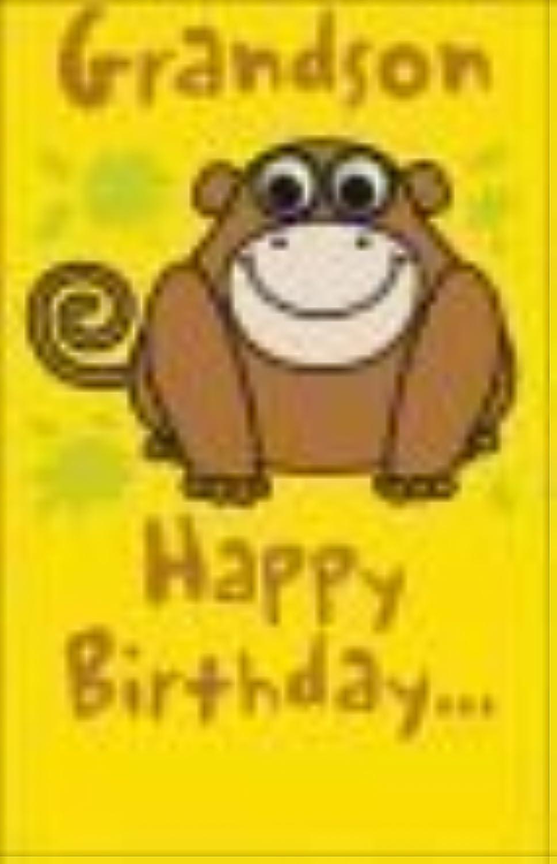 Precio por piso Cheeky Monkey Grandson Birthday Coched by UK Greetings Greetings Greetings  en venta en línea