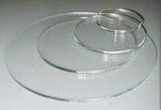 قرص دائري من زجاج البولي ستيل الشفاف من CIL متوفر العديد من الأحجام الأخرى لوسيت (30.48 سم)