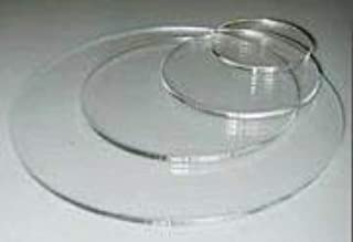 CIL Clear Acrylic Lucite Plexiglass Round Circle Disc Many More Sizes Available Lucite (12