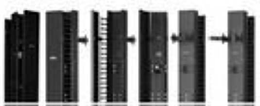 Hoffman EC6D7 Cabletek EC Vertical Cable Manager