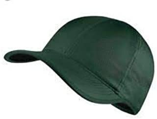 Nike Aerobill Featherlight Tennis Cap Green 840455 302 OSFA b5899563a146