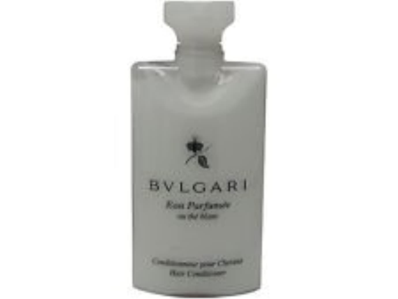 冷蔵庫聡明和解するBvlgari Eau Parfumee Au The Blanc (ブルガリ オー パフュ-メ オウ ブラン) 2.5 oz (75ml) ヘアーコンディショナー