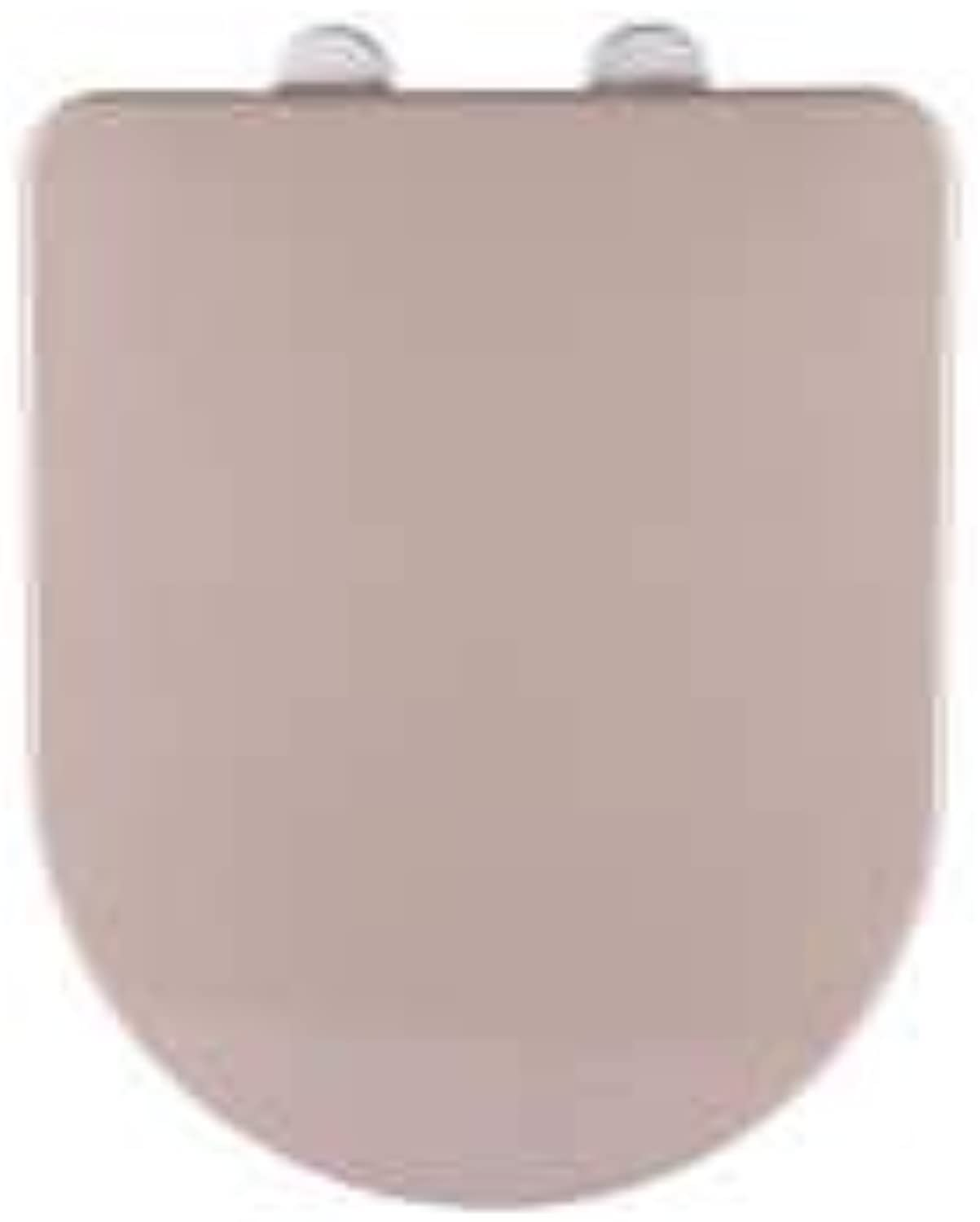 Toilet Seats U-Type Brown Toilet Lid with Antibacterial Urea-Formaldehyde Resin Easy to Install Ultra Resistant Decorative Toilet Seat Cover Suitable for Families Bathrooms Hotels