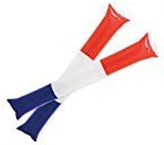 FUN FAN LINE - Lot de 5 Paires de bâtons gonflables en Plastique pour l'animation et Les événements Sportifs. Bruyant Chee...