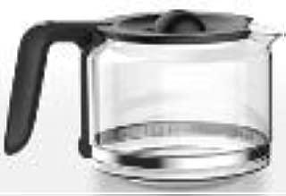 Gevi CM1121B-UL 5-Cup Replacement Glass Carafe, Black