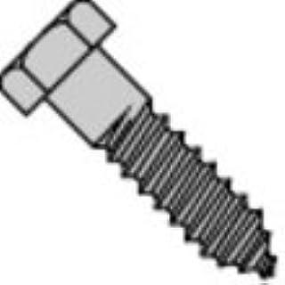 1//2-6 x 2 1//2 Hex Lag Screw Stainless Steel 316 Pk 200