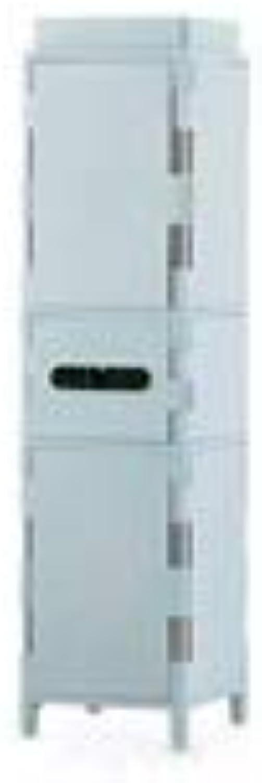 Floor-Standing Storage Box, Multi-Layer Crack Bathroom Locker Living Room Sundries Books Finishing Cabinet, 79-103CM (color   bluee, Size   20  20  79CM)