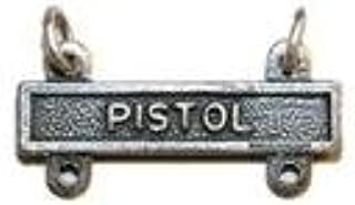 Badges And Collar Devices Army Qualification Bar Pistol Oxidized Finish