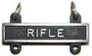 Badges And Collar Devices Army Qualification Bar Rifle Oxidized Finish