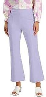 ALFANI Womens Purple Wide Leg Wear To Work Pants AU Size:20