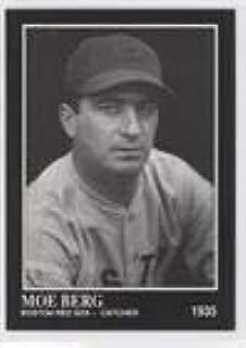 Moe Berg (Baseball Card) 1991 The Sporting News Conlon Collection #184