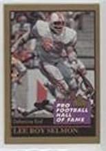 Lee Roy Selmon (Football Card) 1991 Enor Pro Football Hall of Fame - [Base] #179