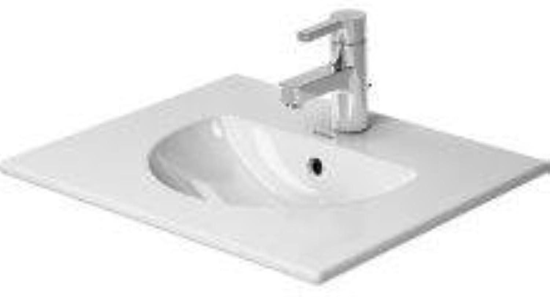 Duravit 0499530000 Waschbecken mit Waschbecken aus Keramik, übertisch-Waschbecken aus Keramik, Wei, 530 mm