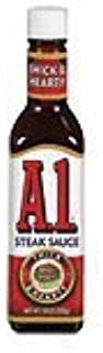 A1 Thick & Hearty Steak Sauce 10 oz (Pack of 2)